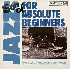 JAZZ FOR ABSOLUTE BEGINNERS 2 x VINYL LPs GERMANY Sidney Bechet DIZZY GILLESPIE