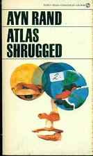 ATLAS SHRUGGED by Ayn Rand (1985) Signet pb
