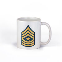 Army Sergeant Major (SGM)  Ceramic 11 Ounce Coffee Mug