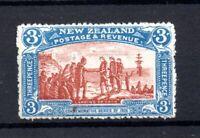 New Zealand 1906 3d Christchurch mint LHM (slight gum crease) SG372 WS21118