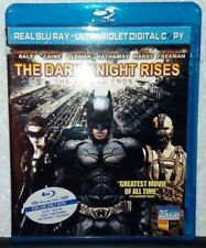 BATMAN: THE DARK KNIGHT RISES, THE LEGEND ENDS (BLU-RAY) Christian Bale