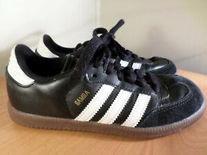 Adidas Samba Classic Black Athletic Indoor Soccer Shoes 036516 Youth Kids Size 2