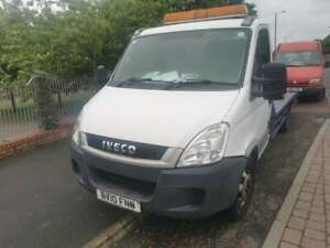 2010 IVECO DAILY RECOVERY TRUCK BEAVERTAIL NOVEMBER MOT AIRBAG SUSPENSION 160k