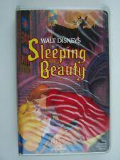 Walt Disney Classic Sleeping Beauty VHS Video Tape Red Signature Black Diamond