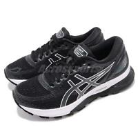Asics Gel-Nimbus 21 Black Grey White Women Running Shoes Sneakers 1012A156-001