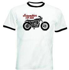 HONDA SCRAMBLER CB 550 Ispirato-Nuovo T-shirt Cotone-Tutte le taglie in magazzino