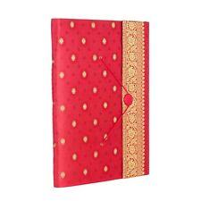 Fair Trade Handmade Extra Large Red Sari Photo Album, Scrapbook 2nd Quality