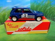 Hachette-Corgi Solido-BNIB-Renault 5 Maxi Turbo (1985) Gratis Envío