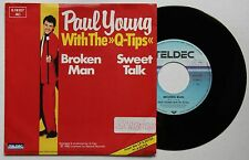Paul Young Withg The Q-Tips Broken Man, German Single 1982