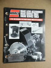 1995 AMMCO Automotive Service Tool Equipment Catalog Hennessy Vintage ORIGINAL