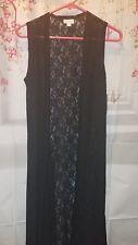 NEW LuLaRoe Solid Black Noir Lace Joy Size Small NWT! Floral pattern.