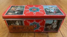 Vintage Huntley and Palmers Biscuit Tin - Cries of London