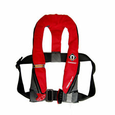 Life Jacket Crewsaver Crewfit Fiery Red 165N Manual Inflatable Harness Loop