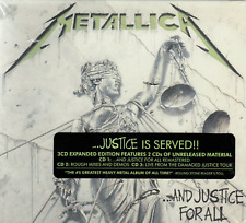 METALLICA ...And Justice For All Expanded Edition 3CD BRAND NEW Digipak