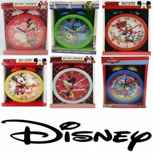 Disney Giant Bedside Bell Alarm Clocks. Micky Mouse, Minnie Mouse,Monsters