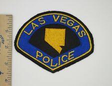 LAS VEGAS NEVADA POLICE PATCH Older Vintage Original