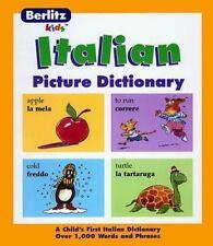 Italian Picture Dictionary (Berlitz Kids)