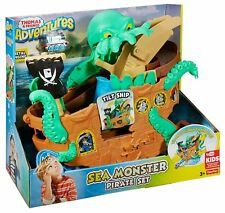 Fisher Price Thomas & Friends Adventures Sea Monster Pirate Play Set
