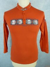 HUGO BOSS Polo Taille 16 ans - Manches longues - Orange