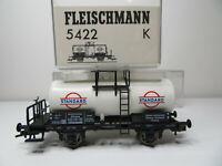 201HO - Fleischmann H0 5422 K - Kesselwagen STANDARD weiß der DR - TOP in OVP