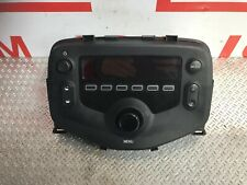 TOYOTA AYGO RADIO OUT OF 2017 RADIO STEREO UNIT 86120-0H060