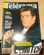 CINEMA TELEVISION TELERAMA N°2065 1989 EDDY MITCHELL INDEMODABL SEMPE A NEW YORK