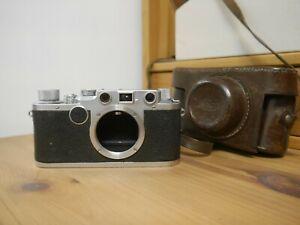 Leica IIc rangefinder 35mm film camera
