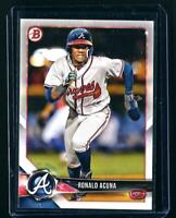 2018 RONALD ACUNA JR. Bowman Prospects ROOKIE Card #BP1 RC Atlanta Braves Card🔥