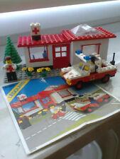 Lego 6364 Krankenstation mit Auto von 1980, komplett inklusive Anleitung