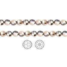 12 Swarovski Crystal Beads Faceted Round 5000 8mm, 12 Swarovski Beads 5000 8mm