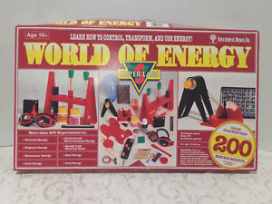 SCIENCE CHILD'S EXPERIMENT WORLD OF ENERGY SET