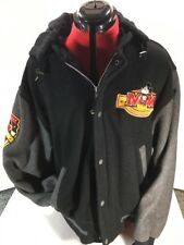Vintage Disney  Mickey Mouse Team Wool Letterman Bomber  Jacket L