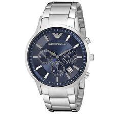 Orologio EMPORIO ARMANI da Uomo AR2448 Classic Cronografo Acciaio Watch Uhr