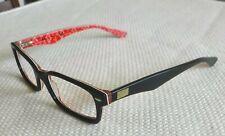 Nice Ray-Ban Eyeglasses Black on Red Logo Frames RB 5206 2479 / 52-18-145