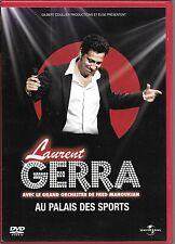 2 DVD ZONE 2--SPECTACLE--LAURENT GERRA--AU PALAIS DES SPORTS 2011