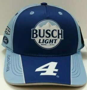 Kevin Harvick Busch Light 2021 Sublimated Uniform Sponsor Hat # 4 - Free Ship