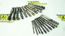"""New listing Lot Of 21 Assorted Hss Spiral Taps #4-40Nc To 1/2""""-20Nf Sossner Hanson Osg"""