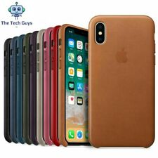 For iPhone 6 6S 7 8 Plus X XS XR 11 Pro Max Back PU Leather Case Cover Protector