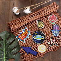 Embroidered Sew Iron On Patches Badge Fabric Bag Clothes Applique-Craft Transfer