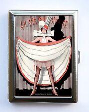 Art Deco La Vie Parisienne Flapper Cigarette Case id case Wallet Business Cards