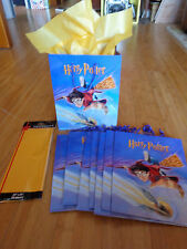 Harry Potter Paper Gift bags - You get 8!! Sorcerer's Stone Party!