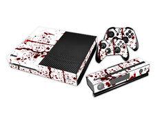 Xbox One habillé Design Foils Autocollant Film de protection ensemble - sang