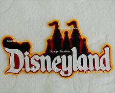 DISNEYLAND Die Cut Title Disney Scrapbook Page Paper Piece - SSFFDeb