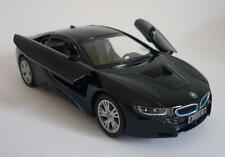Black BMW i8 Boys Dad Toy Model Diecast  Car Birthday Present Pull back & Go