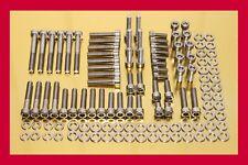 BMW R 1200 C r1200c Grand acier inoxydable Ensemble De Vis Moteur Vis 124 pièces