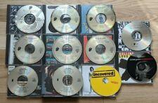 The Rolling Stones 10 CD Lot Steel Wheels, Sticky Fingers, Hot Rocks, Rewind ++
