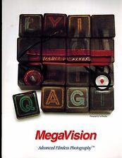 MEGAVISION DIGITAL BACK CATALOG/BROCHURE (ORIGINAL PRINT/NOT COPIES)