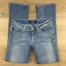 Serfontaine Cruiser Straight True Blue Women's Jeans Sz 26 Actual W29 L29 (AH5)