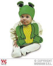 Baby Frog Bonnet And Bib Animal Froggy Toad Fancy Dress Costume
