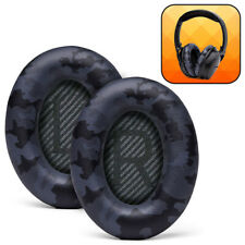 Wicked Cushions Replacement Ear Pads For Bose QuietComfort 35 & 35ii- Black Camo